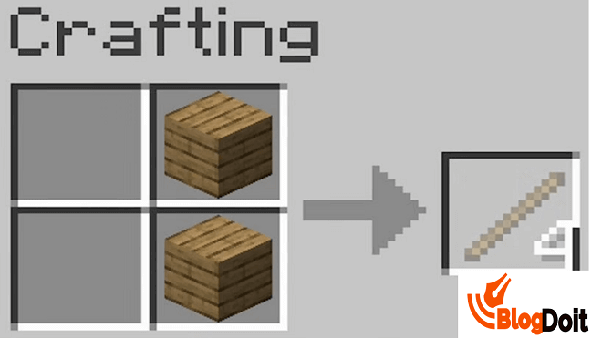 How to Craft Minecraft Furnace - Step 02