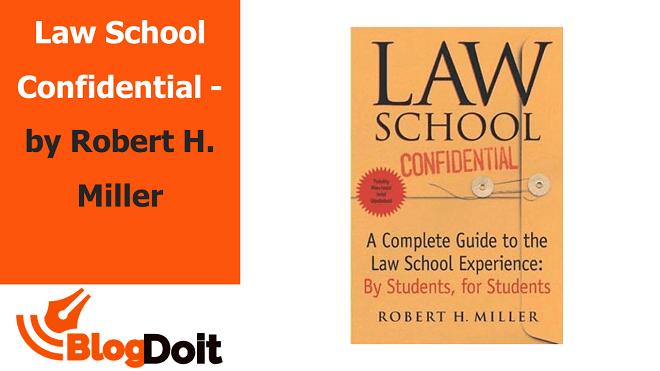Law School Confidential - by Robert H. Miller